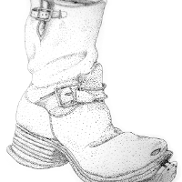 Boot sketch