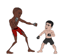 Boxing Match animation 1