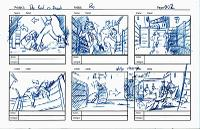 6 panel storyboard sketches - page 3