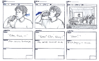storyboard sketches page 1