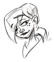 Smirk sketch