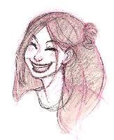 Girl, Sketch 5