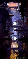 Sci-Fi Cityscape 1 animation