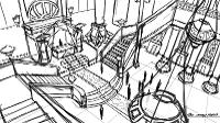 interior sketch animation