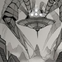 Spaceship 2 animation