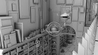house - interior 2 animation