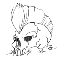 Concept Art - Skull animation
