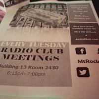 advertisment for mt. sac radio club meetings