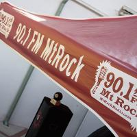 mt. rock booth canopy with logo