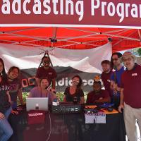 mt. sac broadcasting booth