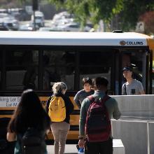 Lot M Shuttle Bus