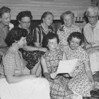 Staff in 1946