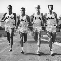 Mt. SAC Track Runners at Hilmer Lodge Stadium