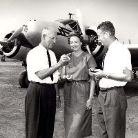 Staff near Aircraft 1961