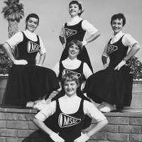 1957 MSAC Cheerleaders