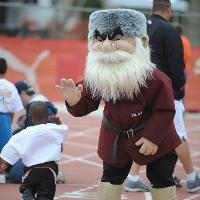Joe Mountie Mascot