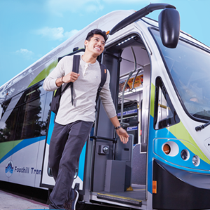 The Class Pass gives you a semester break from parking through free rides on Foothill Transit buses.