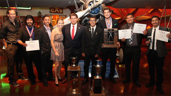 Flying Team wins Top Two Year School Award - Fall 2014