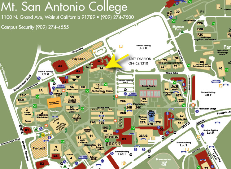 Arts DIV Map