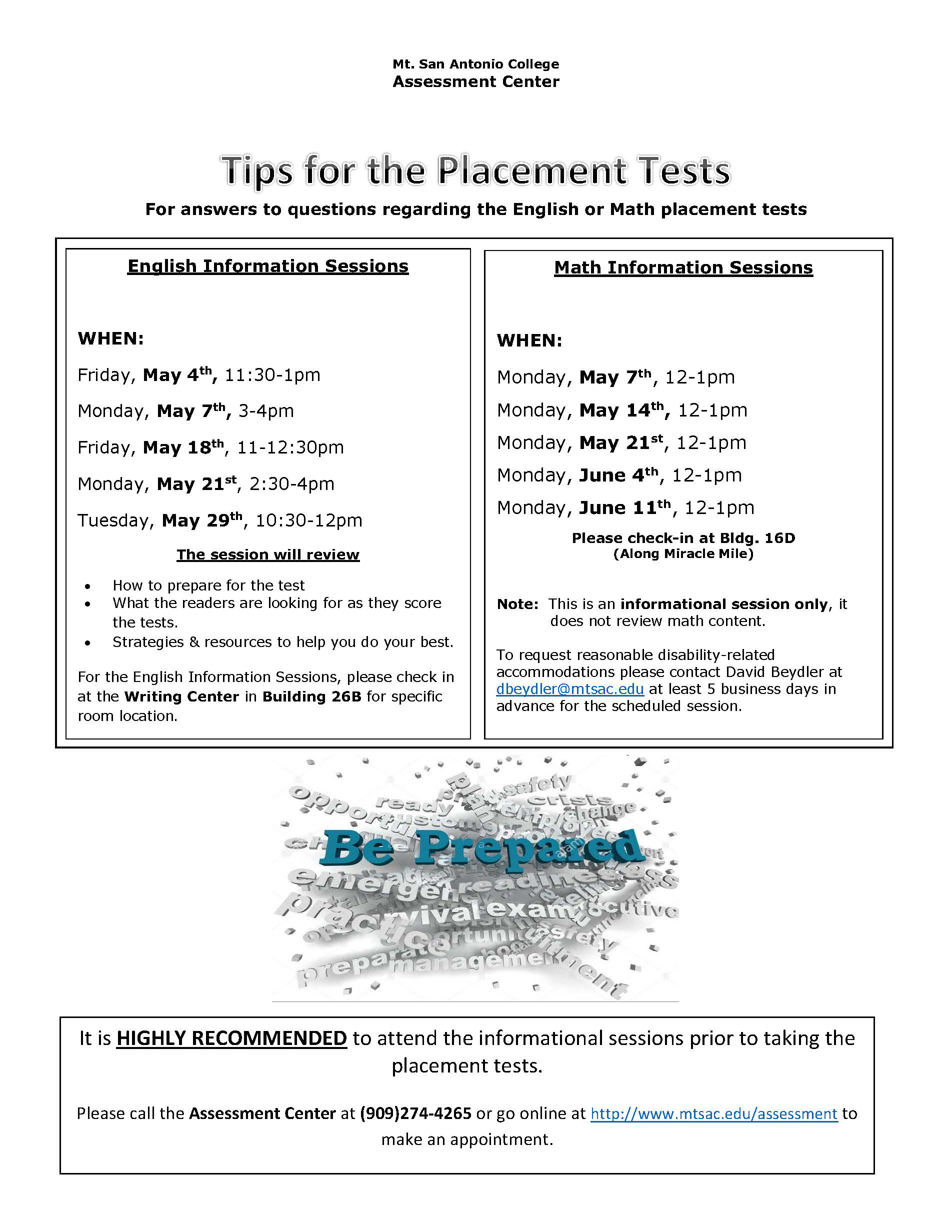 Test Info Session Flyer-Date & Time