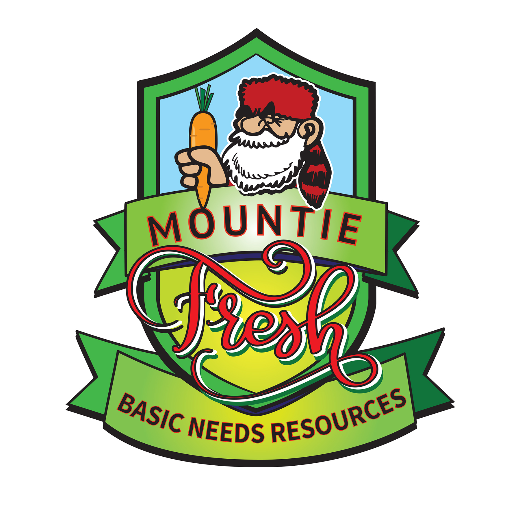 Mountie Fresh Logo Basic Needs