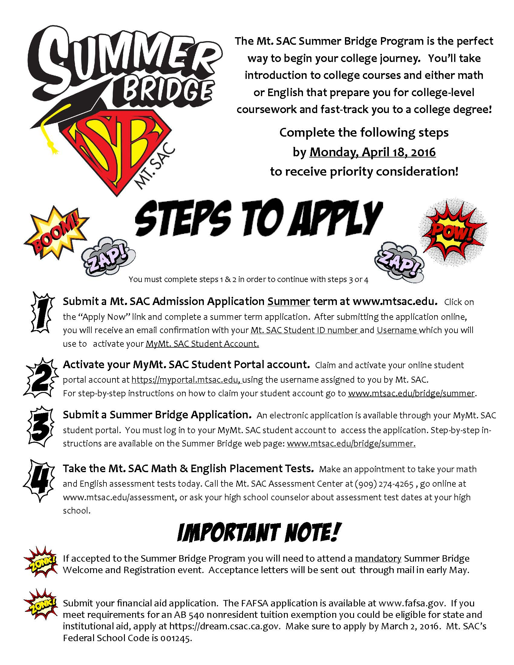 steps to apply for college Step 1 - admissions application welcome to lane start by submitting your  application for fall term by september 14th once you.