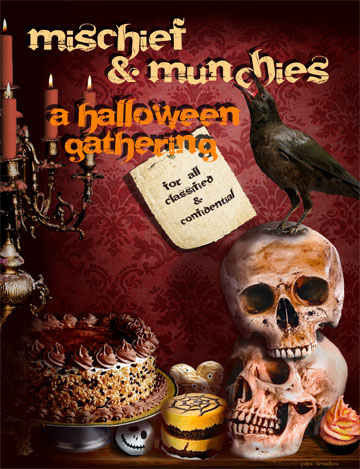 Mischief and Munchies a Halloween gathering for all classified and confidential employees