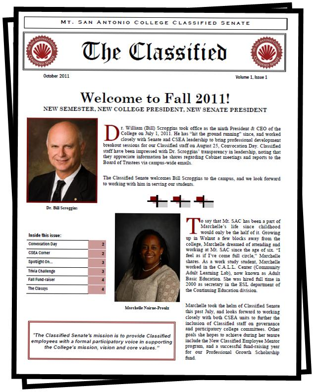 The Classified 10/2011