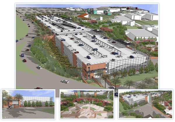Parking Structure Renderings