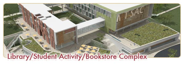 Library, Student Activity, Bookstore Complex