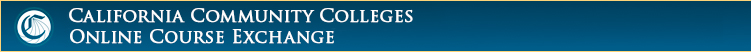 CCC Online Course Exchange Banner