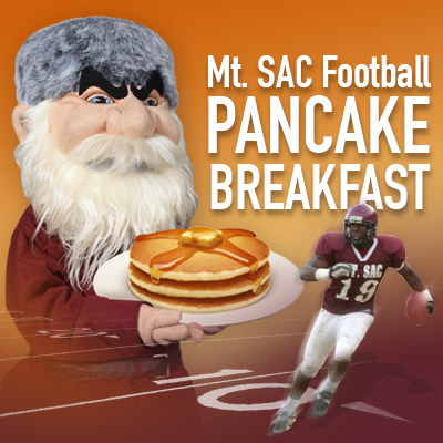 Annual Football Pancake Breakfast Hilmer Lodge Stadium 8/23/2014 7:30 - 10 a.m.