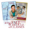 Fall Classes Begin  8/25/2014