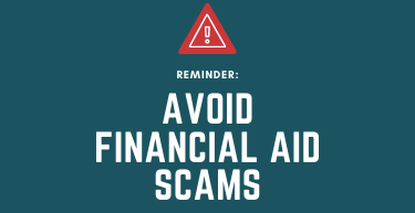 Avoiding Financial Aid Scams