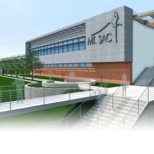 architext rendering of new business and technology building