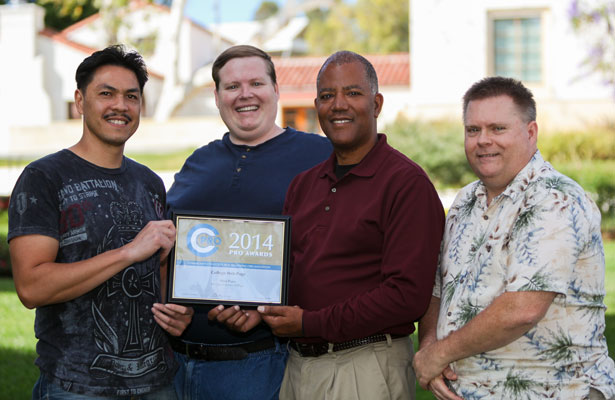 Web and Portal Team Win CCPRO Award
