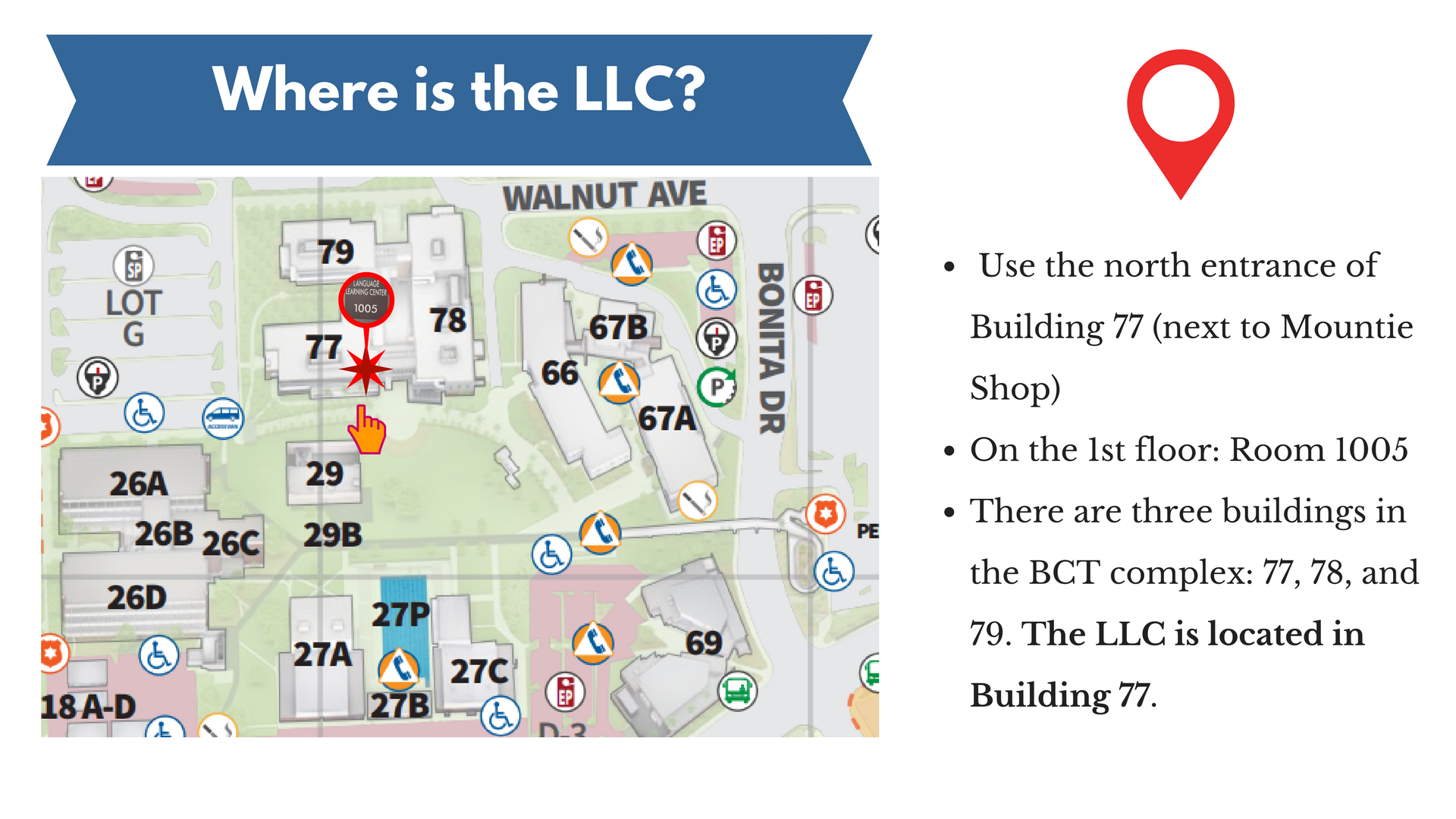 llc we are here map
