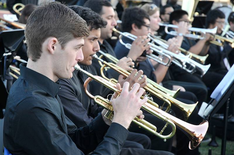picture of trumpet section