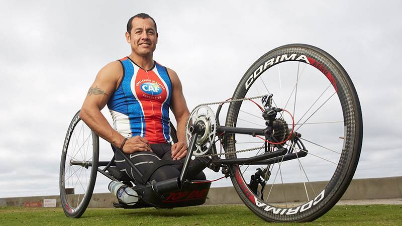 picture of Paralympian Oz Sanchez