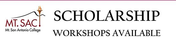 Winter Workshops for Scholarships