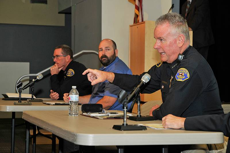 Mt. SAC's police chief on a panel