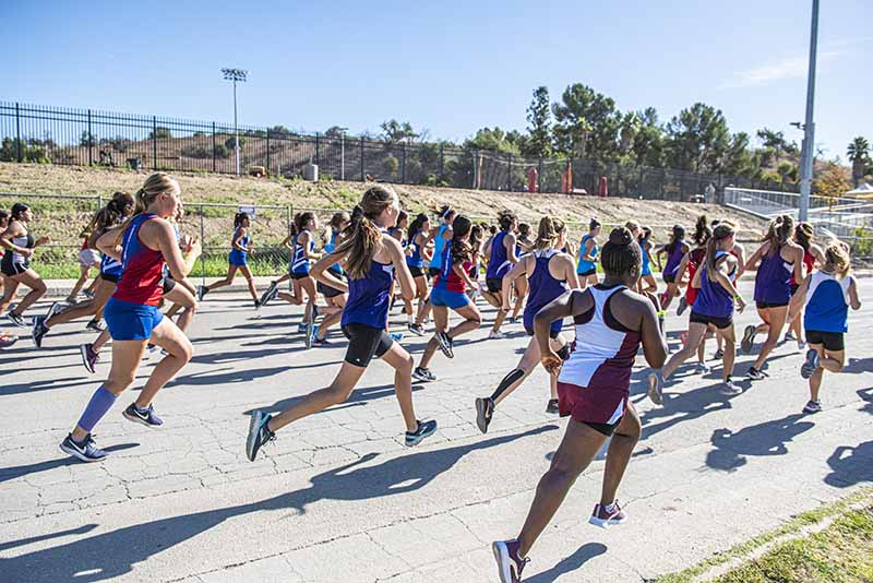 Mt. SAC Invitational runners