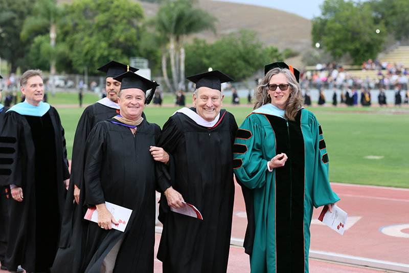 Mike Gregoryk at 2015 commencement