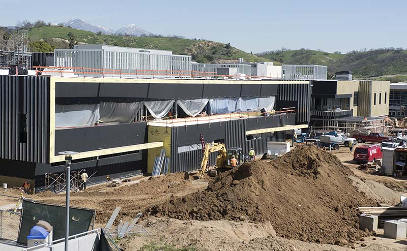 Mt. SAC Facility Construction