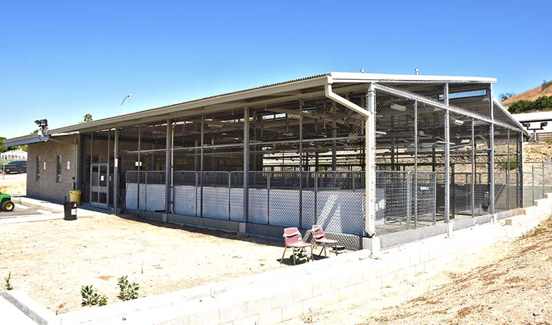 New Greyhound Rescue facility