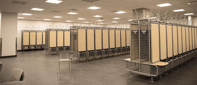 New locker room