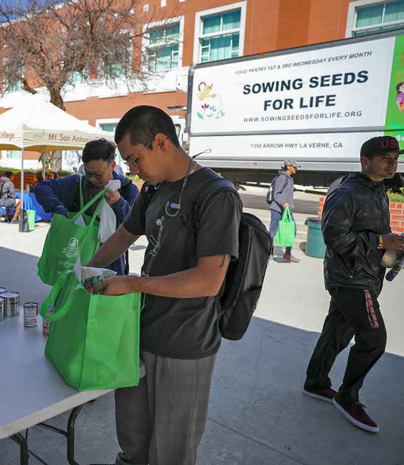 Sowing Seeds for Life is a partner in the Pantry