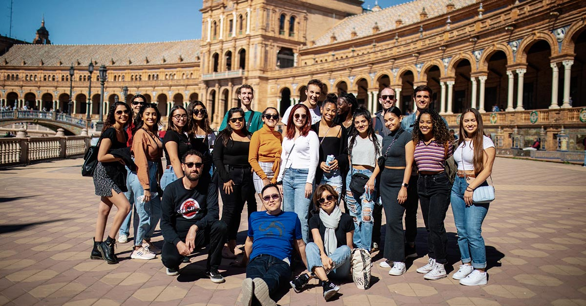 Mt. SAC students in Seville, Spain