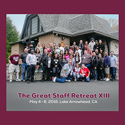 Thumbnail image of the Great Staff Retreat 2016