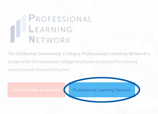 image of professional learning network logo with link to site